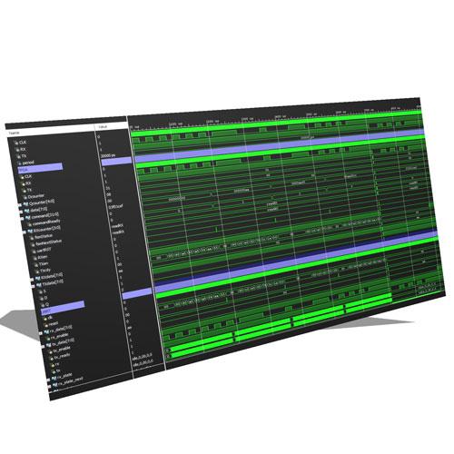 VHDL UART ve SPI Modülü Kullanan Basit Bir İşlemci